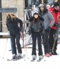 Kim, Kourtney & Scott Hit The Slopes In Utah