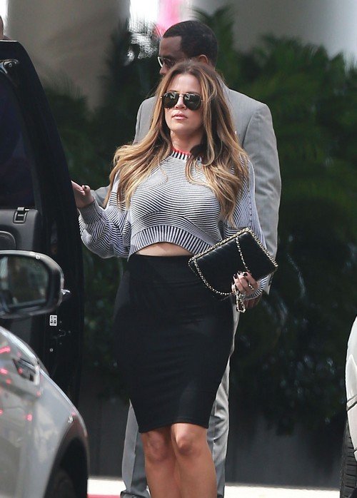 Khloe Kardashian Exposes Boobs and Butt, Bares Midriff, To Distract From Family's Disintegration (PHOTOS)