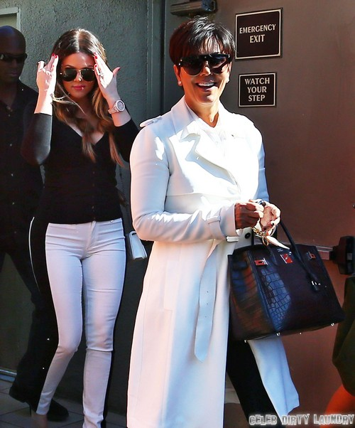 Kris Jenner and Bruce's Divorce Triggered By Another Cancer Scare: Kris Just Doesn't Care