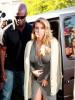 Kim Kardashian & Kylie Jenner Visit DASH