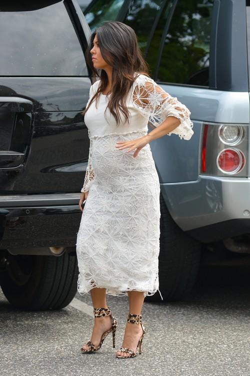 Kourtney & Kim Kardashian Visit Their New York DASH Store