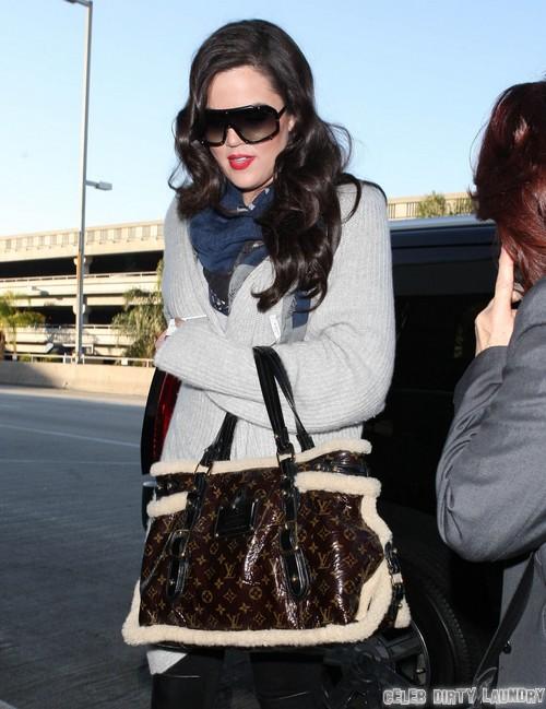 Khloe Kardashian Plays Therapist To Lamar Odom's Daughter