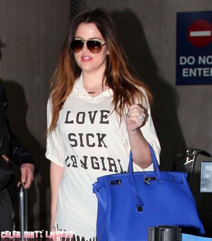 Khloe Kardashian Insults Kris Humphries On Live TV (Video)