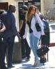 Semi-Exclusive... Khloe & Rob Kardashian Catch A Flight Out Of Burbank