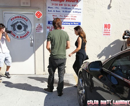 Kim Kardashian: Leather Clad Miami Gun-Toting Defender