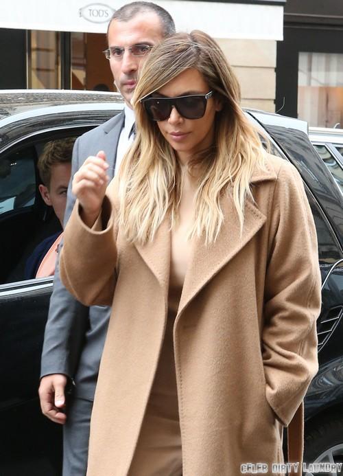 Kim Kardashian Shops At Hermes