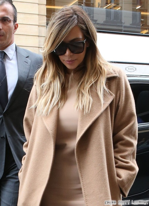 Kim Kardashian Shops At Hermes