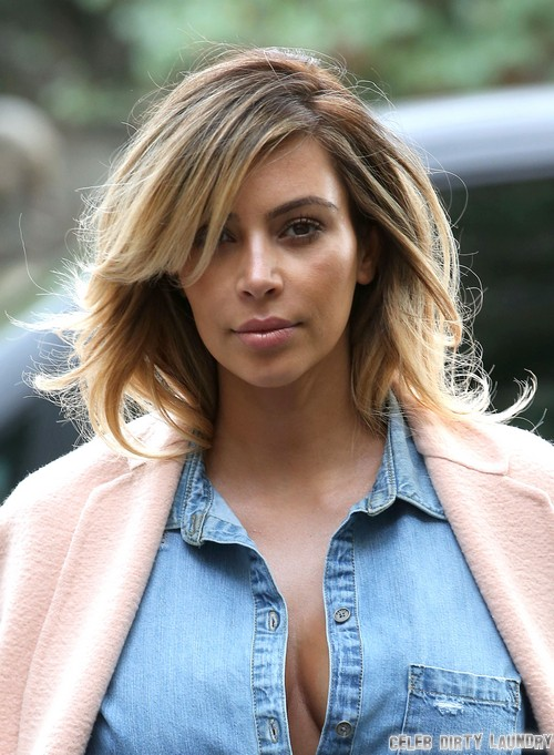 Kim Kardashian Lunches At La Societe