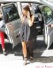 Kim & Khloe Kardashian Return To Their Hotel