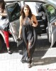 Kim & Khloe Kardashian Return To Their Hotel