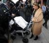 Kim Kardashian & North Step Out In New York