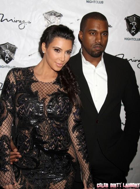 Kim Kardashian Hosts The New Year's Eve Countdown At 1 OAK Nightclub