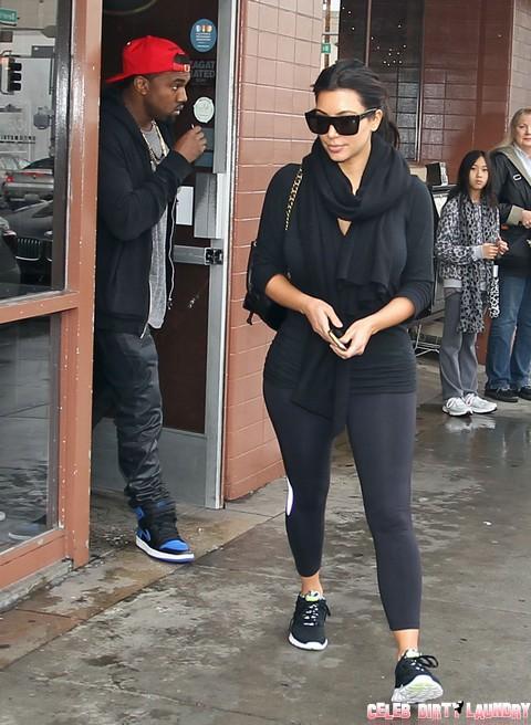 "Pregnant Kim Kardashian and Kanye West Split Near – Rapper Ready To Dump His ""Perfect Bitch"""