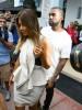 Kanye West & Kim Kardashian Shopping In Miami
