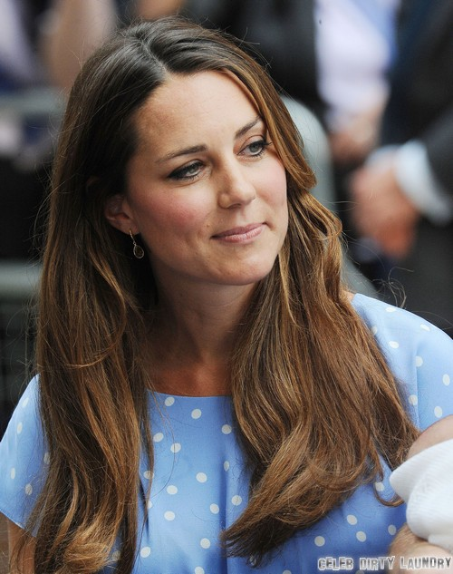 Kate Middleton's Pregnancy Weight Loss Scandal - Hours After Giving Birth! (PHOTO)