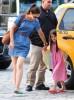 Katie & Suri At Chelsea Piers In New York