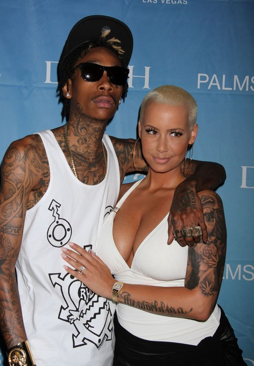 Wiz Khalifa Cheating On Amber Rose With Model Sarah Duce (PHOTOS)