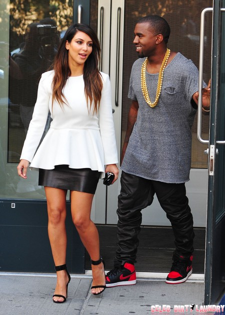 Kanye West Suggests Kim Kardashian's Sex Tape Is For Family Viewing
