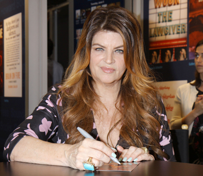 """Kirstie Alley's New Memoir Will Be """"Sexier Than 50 Shades Of Grey"""""""