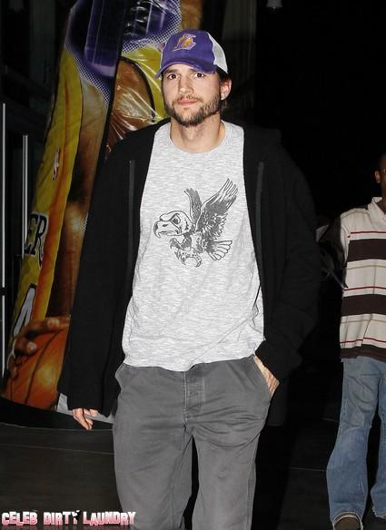 Ashton Kutcher Hot For Halle Barry