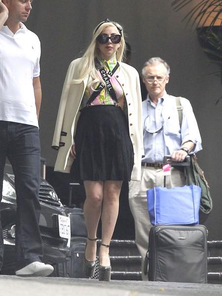 Lady Gaga Blames The Media For Kristen Stewart's Cheating Scandal