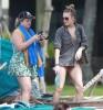 LeAnn Rimes & Eddie Cibrian Enjoy A Day On The Beach In Hawaii