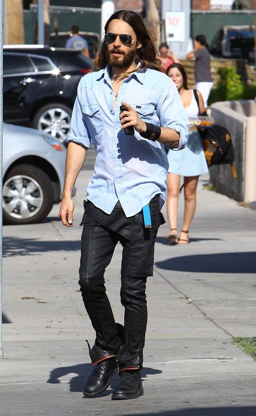 Exclusive... Jared Leto Disses His Mystery Girl In Studio City