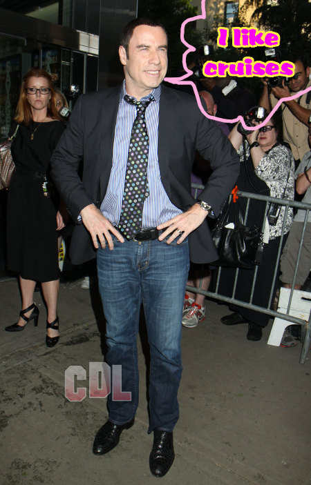 John Travolta Flat Out Denies Steamy Sexual Rompings with Cruise Ship Worker Fabian Zanzi