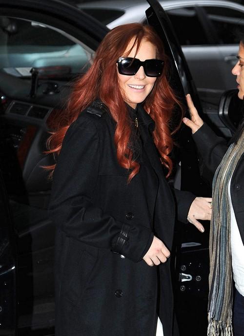 Lindsay Lohan's Thanksgiving in Jail