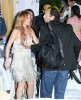 Lindsay Lohan Has A Bad Night In Ischia