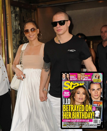 Jennifer Lopez Betrayed by Casper Smart on her Birthday (Photo)