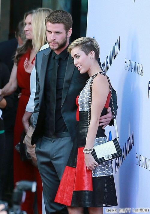 "Miley Cyrus Tells Liam Hemsworth ""I Love You"", Desperate For Reunion"