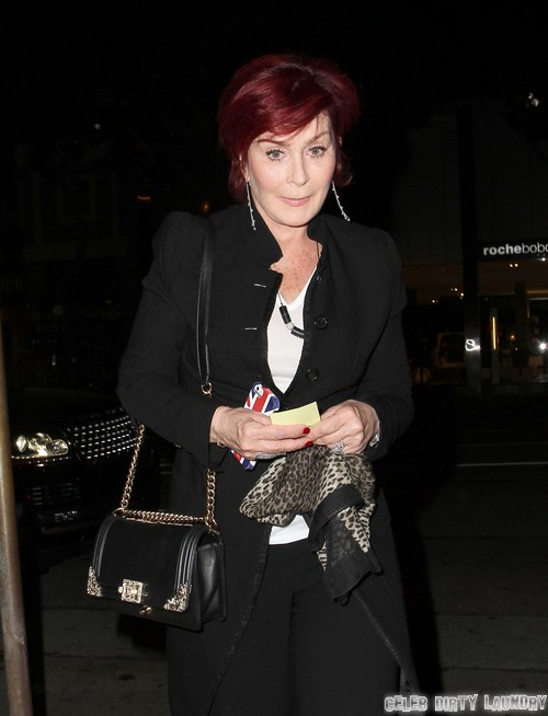 Sharon Osbourne Living In Hotel and Admits Fights With Ozzy - Divorce Soon!