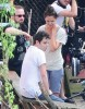 Stars On The Set Of 'Mania Days'