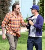 Dean McDermott Argues With A Paparazzo