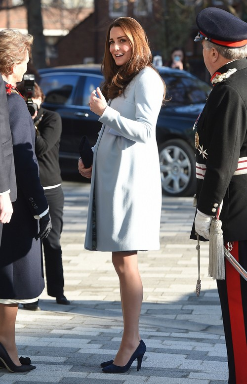 Kate Middleton Opens The Kensington Leisure Centre And