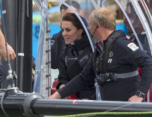 Kate Middleton Gets Trained In Sailing Celeb Dirty Laundry