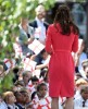 Kate Middleton Visits Blessed Sacrament School