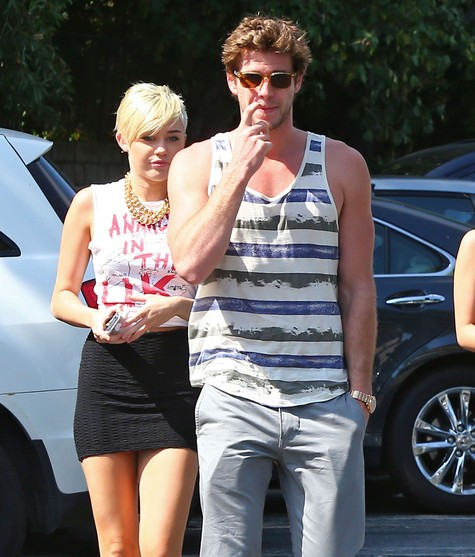 Miley Cyrus And Fiance Liam Hemsworth Get Matching Tattoos (Photo)