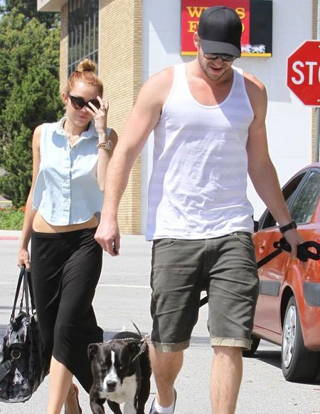 Miley Cyrus and Liam Hemsworth Plotting a Summer Wedding