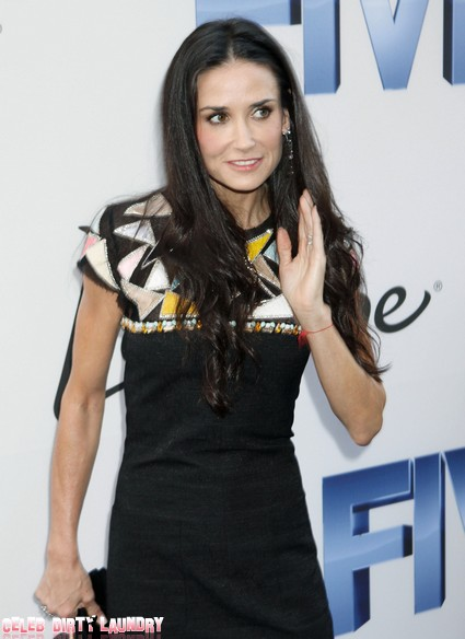 Demi Moore Escapes From Rehab To Take A Vacation