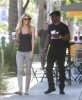 Exclusive... Eddie Murphy & Paige Go On A Coffee Run