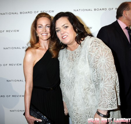 Rosie O'Donnell Forces Michelle Rounds To Sign Prenup Slave Contract