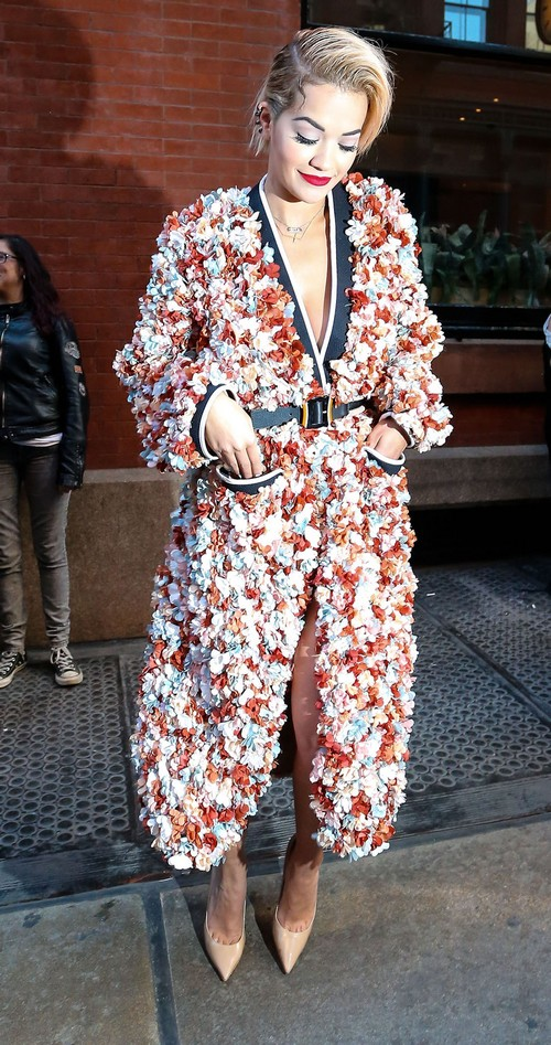 Rita Ora Leaving Her Hotel In New York City