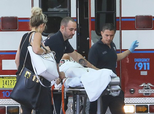 Semi-Exclusive... Rita Ora Rushed To The Hospital In Miami!