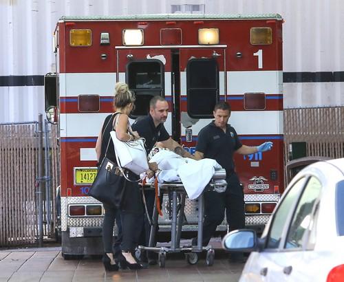 Semi-Exclusive... Rita Ora Rushed To The Hospital In Miami!