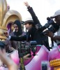 Ian Somerhalder & Norman Reedus Lead The Krewe Of Endymion Parade