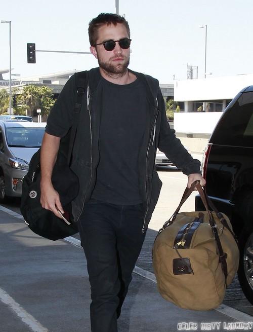Robert Pattinson Already Flirting With A New Girl