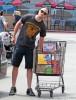 Semi-Exclusive... Robert Pattinson Shops For Groceries
