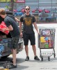 Semi-Exclusive... Robert Pattinson Shops For Groceries